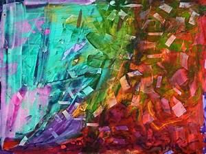 Falling, Folios, Painting