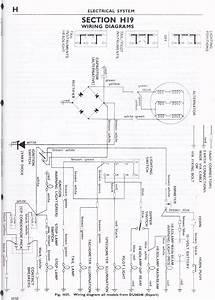 Wiring Diagram Triumph 6t  Tr6  T120 1963