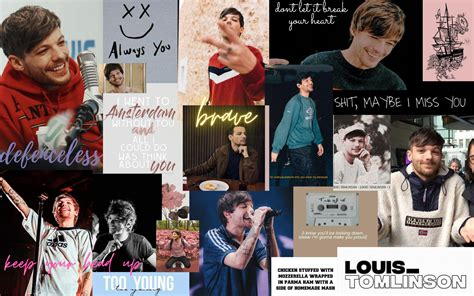 louis tomlinson wallpaper in 2020 one direction