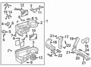 Mazda Mpv Hvac Blower Motor Resistor  Heater  Conditioner