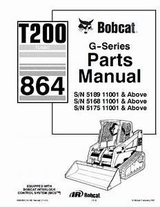 Bobcat T200 Turbo 864 G