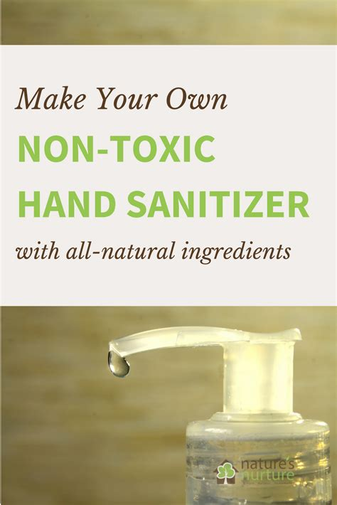 Homemade Hand Sanitizer Recipe Based on Recommendations