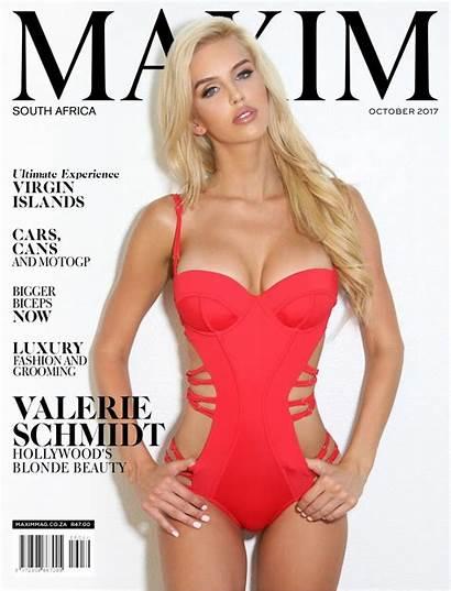 Maxim Africa South Schmidt Valerie Magazine Adult