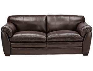 slumberland belgrade collection chocolate sofa