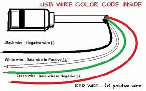 Usb Wire Color Code Inside
