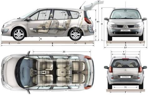 renault grand scenic i dane techniczne autocentrum pl