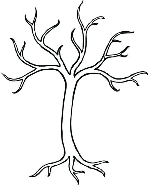 coloring bare tree clip art at clker com vector clip art