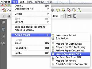 Creating accessible pdf files for Accessible pdf documents