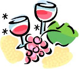 Wine Tasting Party Clip Art