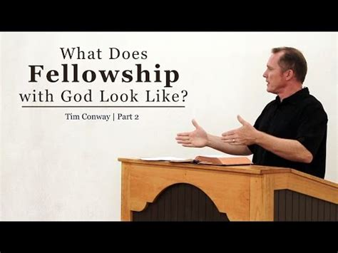 fellowship  god   part