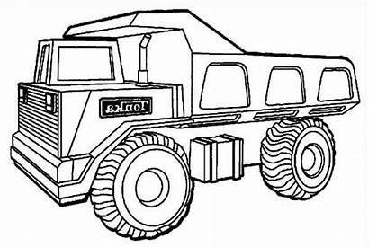 Mewarnai Truck Gambar Mobil Coloring Anak Dump
