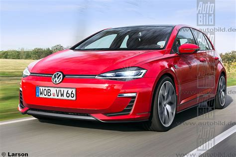 Volkswagen Golf Viii Shapes Up Coming In 2019 Forcegtcom