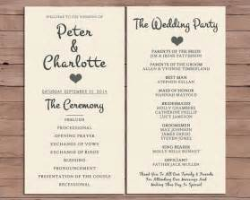 order wedding ceremony program best 25 wedding order of service ideas on