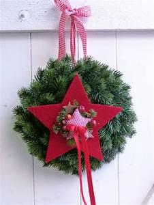 Weihnachten Nähen Ideen : t rkranz weihnachten kreativ pinterest christmas wreaths christmas decorations und ~ Eleganceandgraceweddings.com Haus und Dekorationen