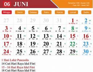 Kalender Juni 2018 zum Ausdrucken [PDF, Excel, Word
