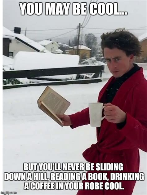 Guy Reading Book Meme - now this guy is straight up cool imgflip