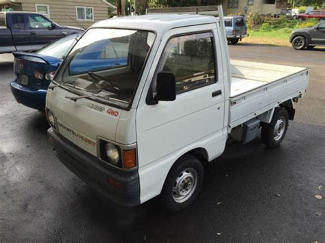 Hijet Mini Truck by 1989 Right Drive Daihatsu Hijet 4wd Mini Truck With
