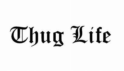 Thug Text Meme Transparent Glasses Thuglife Joint