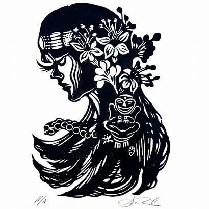 Taino Woman Taina Symbols Indians Tainos Cemi