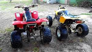 Honda 400ex Comparison - 2004 And 2005