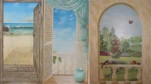 Tableau Trompe L Oeil Paysage : en savoir plus sur trompe oeil ~ Melissatoandfro.com Idées de Décoration