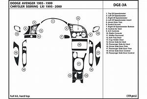 2000 Chrysler Sebring Dash Kits