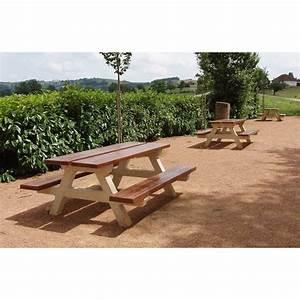 Table Beton Bois : table en b ton bois taba200 ~ Premium-room.com Idées de Décoration