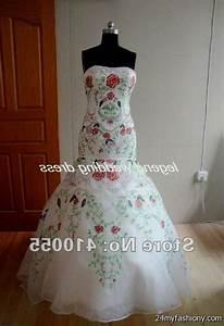 color embroidered wedding dress 2016 2017 b2b fashion With color embroidered wedding dress
