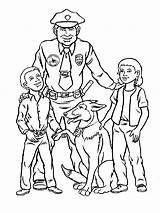 Ausmalbilder Polizei Ausdrucken Malvorlagen Kostenlos Zum Officer Police Boys sketch template