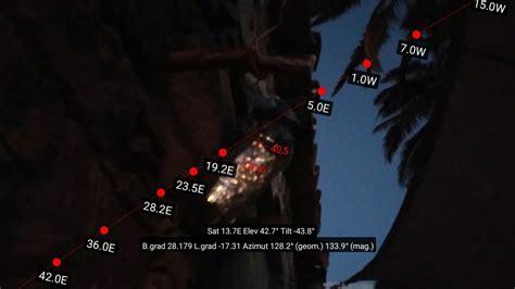 ausrichtung satellitenschüssel astra astra satelliten tv auf den kanarischen inseln myria de