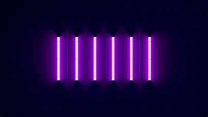 Neon 4k Purple Lights Wallpapers