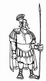 Centurion Coloring Cornelius Bible Spear Armor Heroes Cartoon Drawing Pages Servant Centurions Jesus Heals Healed Getdrawings Netart Trending sketch template