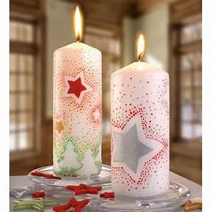 Kerzen Verzieren Weihnachten : kerzen mit sternen basteln pinterest ~ Eleganceandgraceweddings.com Haus und Dekorationen
