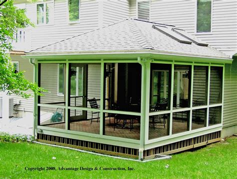 Sunrooms And Porches by 3 Key Features For A Sunroom Suburban Boston Decks