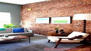 Interior exposed brick wall living room ideas magnifying
