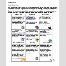 """Math Fact Homework? A Way To Encourage Fact Practice At Home And An Answer To """"what Can I Do To"""