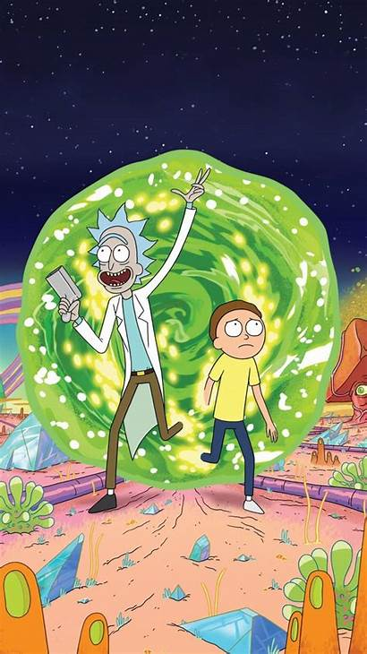 Rick Iphone Morty Sanchez Wallpapers Wallpaperaccess Backgrounds