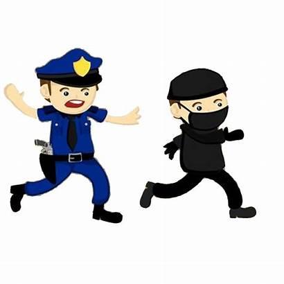 Police Clipart Policeman Criminal Station Crime Transparent
