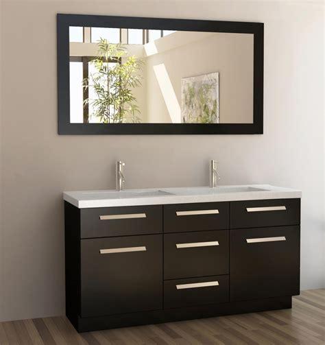 double sink bathroom vanity  quartz