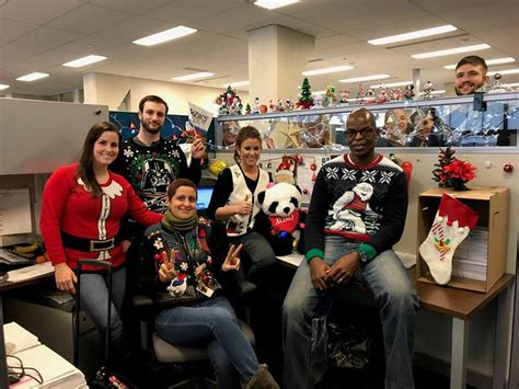 logistics  employees compete  holiday contests