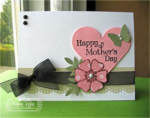 Rosemary Reflections: Peachy Keen Mother's Day Card