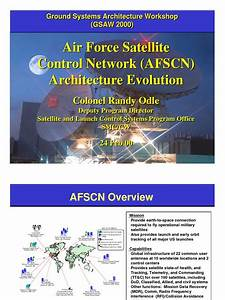 Afscn Architecture Evolution