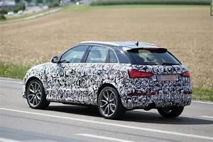 Audi Q3 2016 : 2016 audi rs q3 facelift joins q3 during testing session autoevolution ~ Maxctalentgroup.com Avis de Voitures