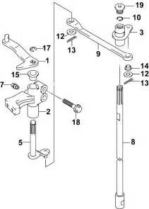 Johnson Shift Linkage Parts For 2004 140hp J140pl4src