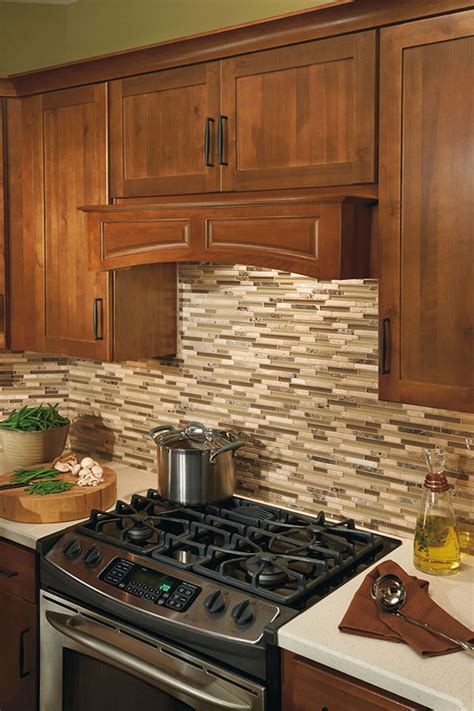 canopy wood hood arched aristokraft cabinetry
