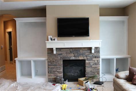 Built Ins Around Fireplace Diy   Home Design Ideas