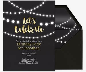 birthday party invitations   evitecom