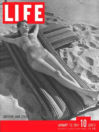 life magazine cover copyright  southern resort styles