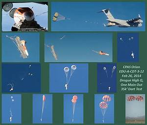 Orion parachute test flight a success | S&K Global Solutions