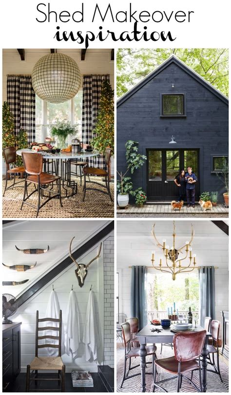 One Room Challenge Shed Inspiration  At Home With The Barkers